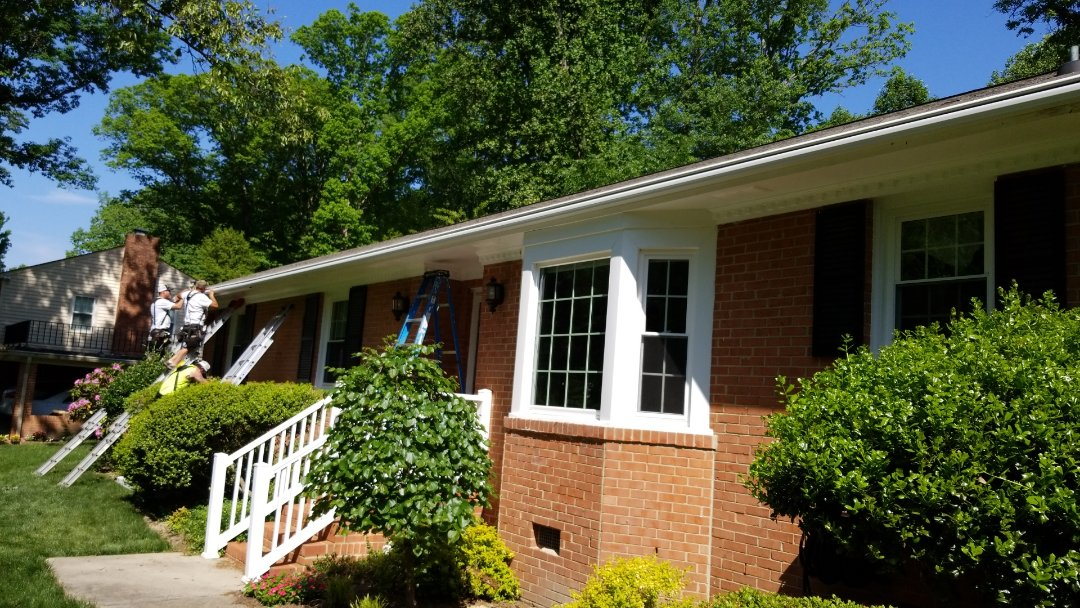 Richmond, VA - LeafGuard gutter in any length you need, plus it's completely seamless