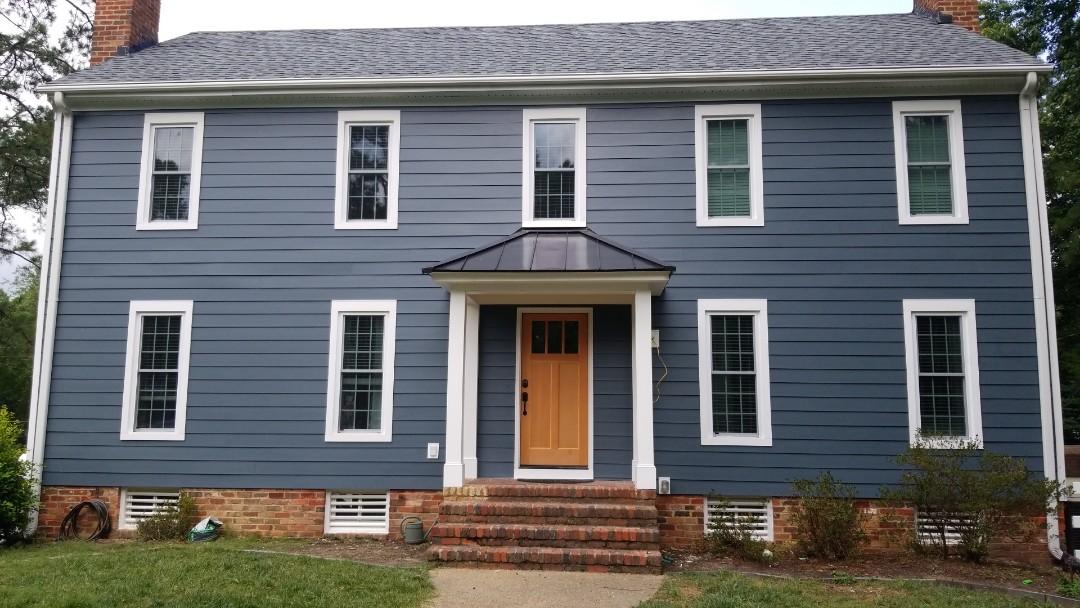 Richmond, VA - LeafGuard and all new windows