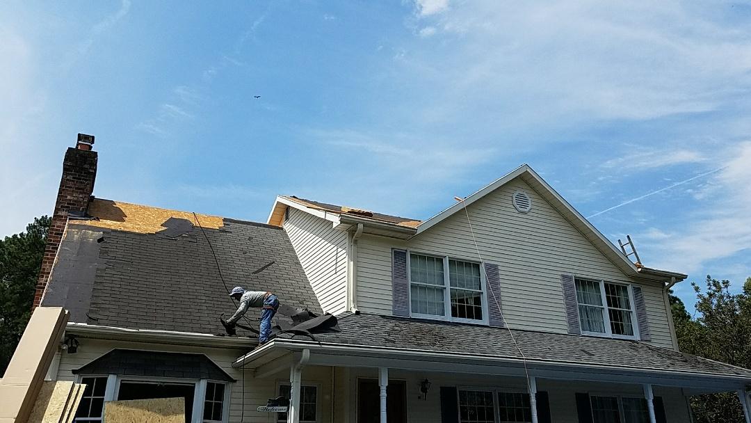 Glen Allen, VA - Exterior Source doing a new roof in Glen Allen Va.