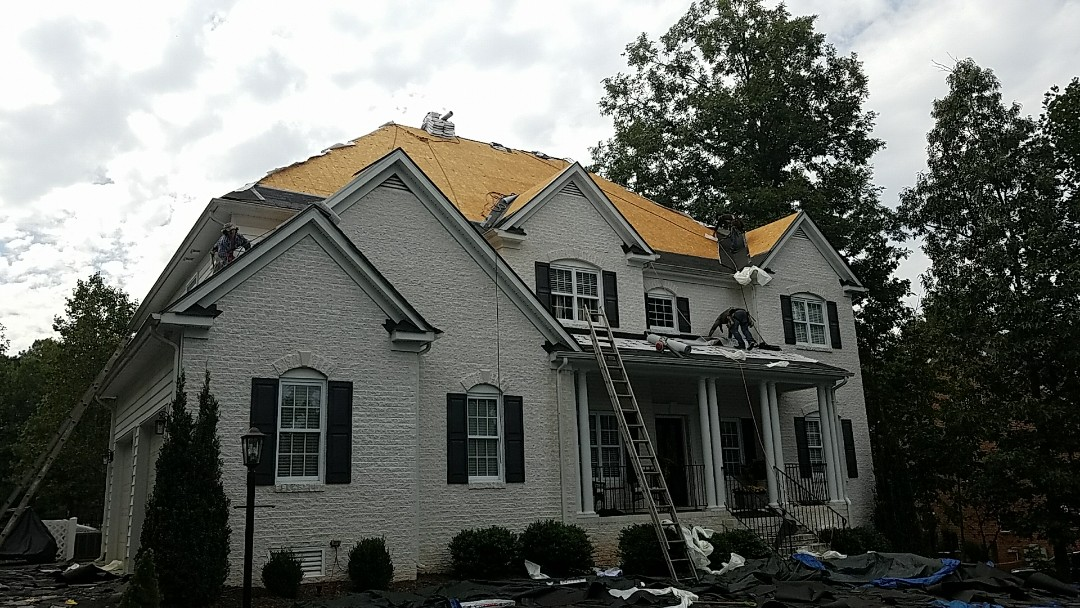 Chesterfield, VA - New GAF roof in Chesterfield Va.