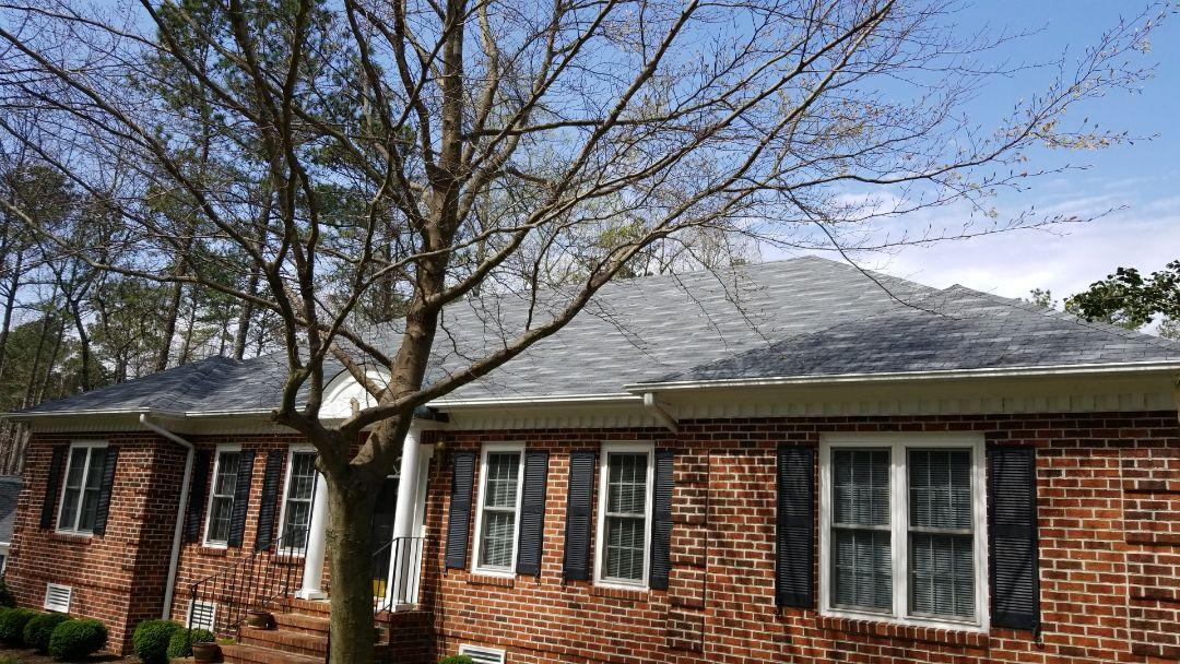 Petersburg, VA - New GAF roof