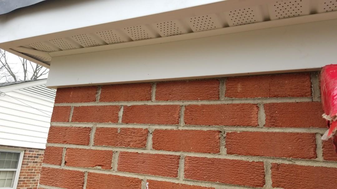 Richmond, VA - New soffit and fascia metal