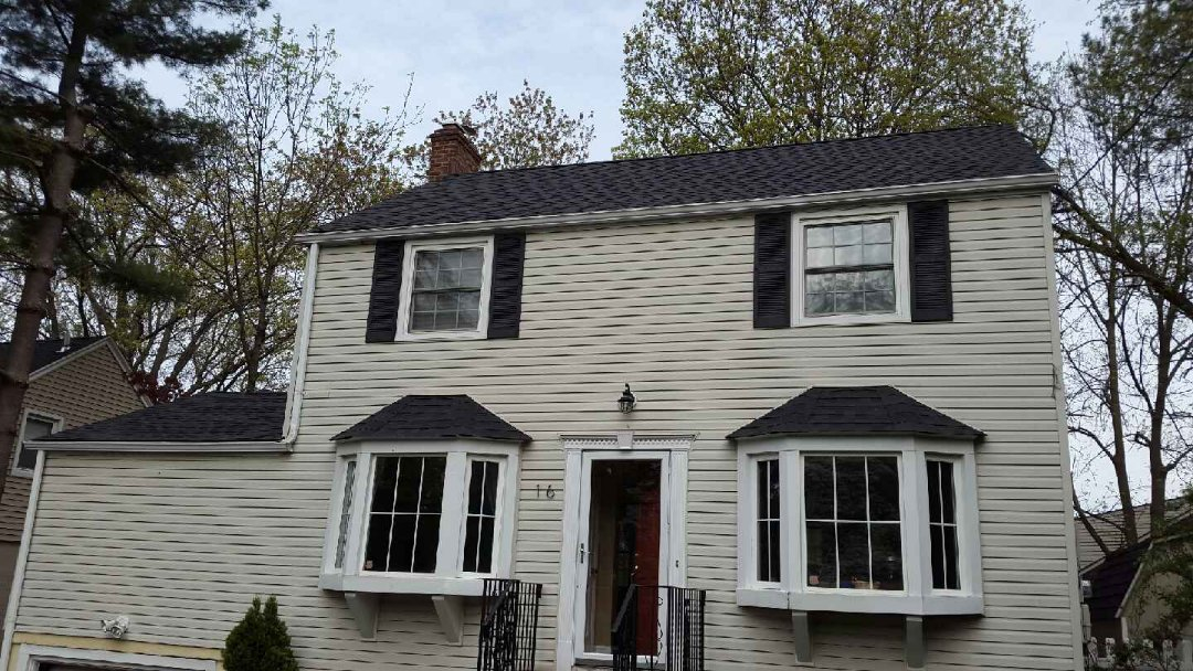 New Providence, NJ - Removed 20yr old roof, Installed GAF Timberline Shingles and added Intake Venting.