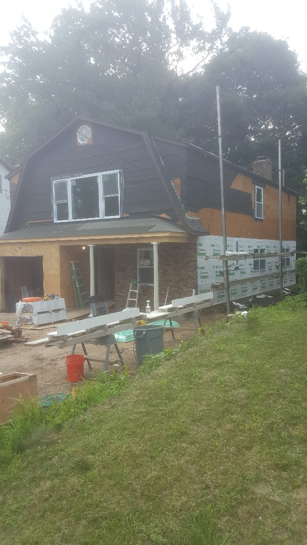 "Tenafly, NJ - New James Hardie 7"" Shakes and Lap Siding project in Tenafly, New Jersey."