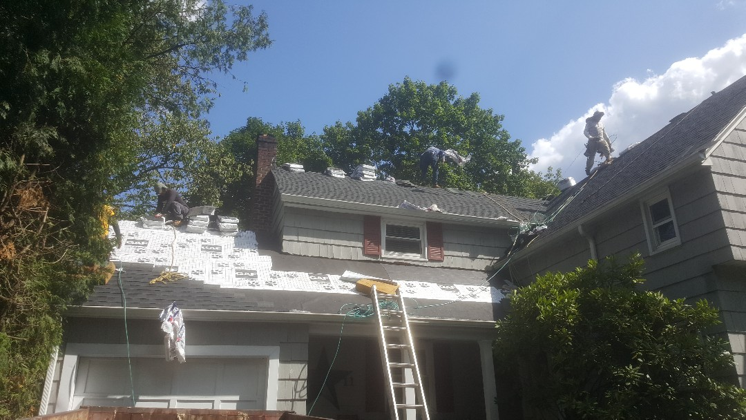 Livingston, NJ - Almost Done!-Livingston NJ-Timberline Shingles (Color:Charcoal)