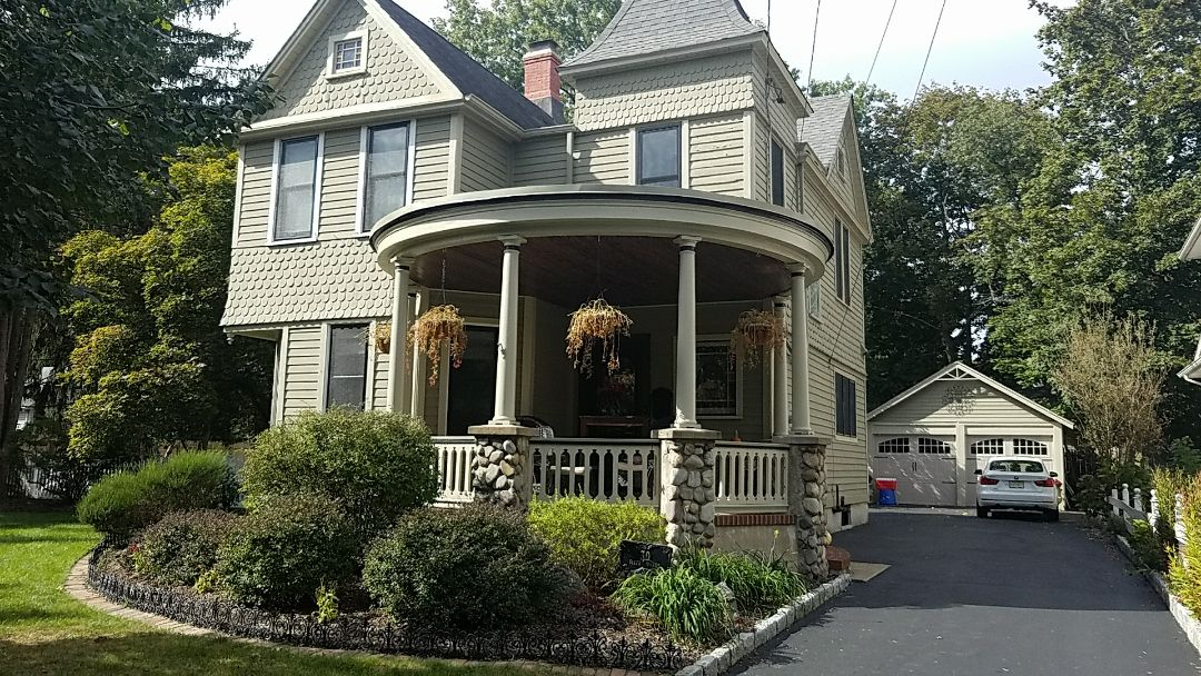 Westwood, NJ - Estimating on James Hardie Siding Project...extra Details, Historical Trim, Scallop Shakes.
