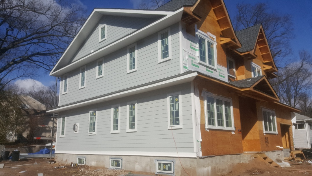 Glen Rock, NJ - James Hardie fiber cement siding - Glen Rock New Jersey. Beautiful!!