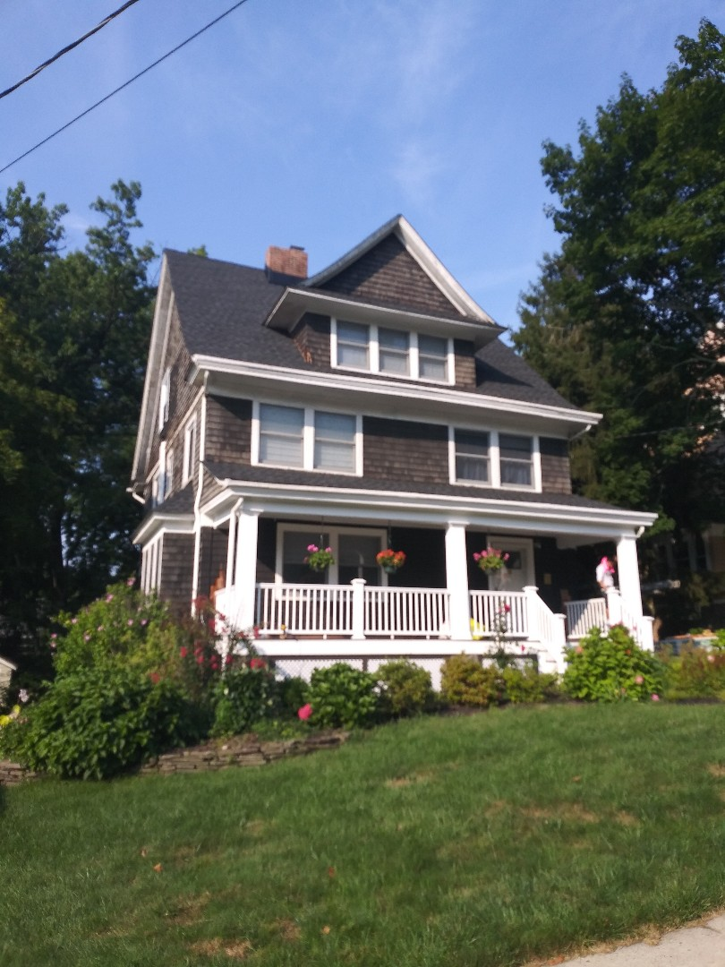 Maplewood, NJ - Another transformation on its way with James Hardie Siding here in Maplewood New Jersey.