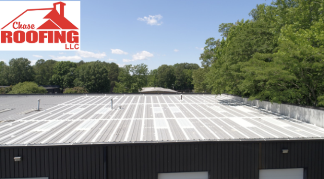 Newport News, VA - Chase Roofing LLC completed a metal roof restoration.