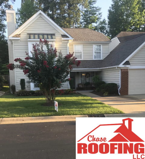 Williamsburg, VA - Chase Roofing LLC completed a full roof replacement with a Certainteed Surestart Lifetime Limited Warranty. This roof replacement was done in the color Weathered Wood.