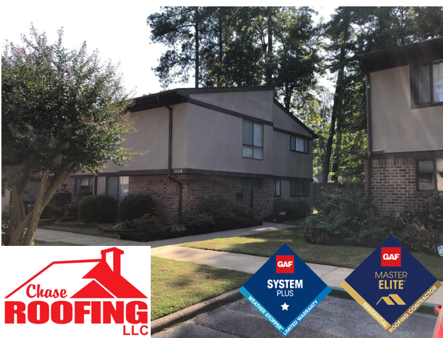Newport News, VA - Chase Roofing LLC completed a roof replacement with a GAF Systems Plus Warranty.