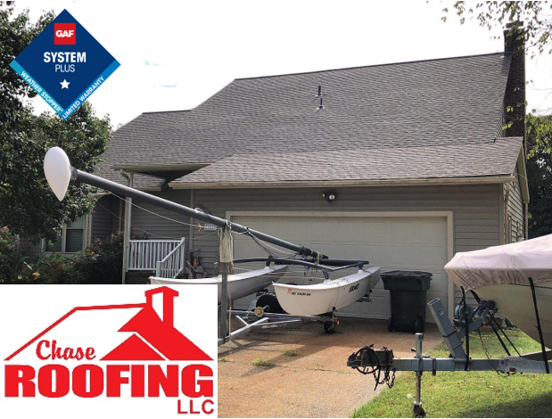 Hampton, VA - Chase Roofing LLC completed a full roof replacement under a GAF Systems Plus Warranty.