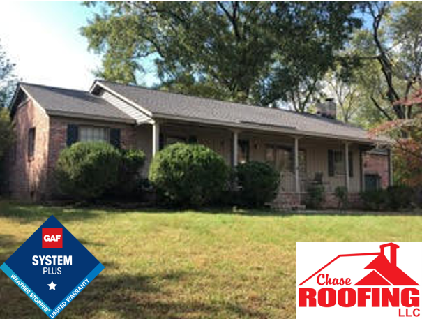 Williamsburg, VA - Chase Roofing LLC completed a full roof replacement with a GAF System Plus Warranty.