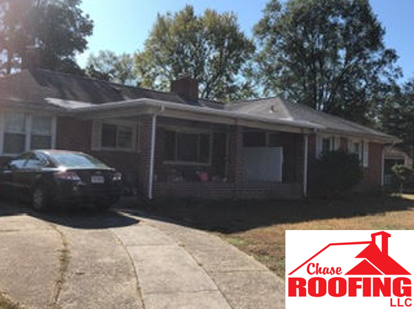 Williamsburg, VA - Chase Roofing completed a TPO Flat roof replacement on this customer's porch.