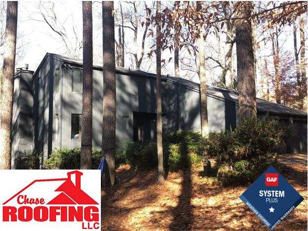 Williamsburg, VA - Chase Roofing LLC completed a full roof replacement with GAF Systems Plus Warranty.