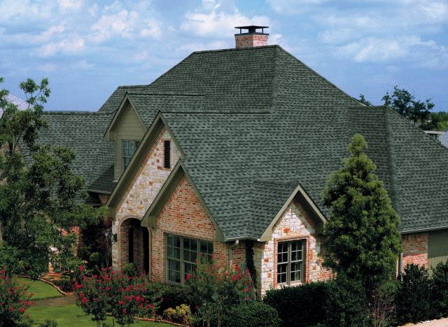 Chagrin Falls, OH - GAF Timberline HD Slate install reroof for a client with broken shingles after a bad summer storm