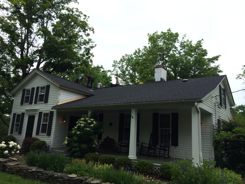Twinsburg, OH - Just wrapping up a GAF American Harvest Project!
