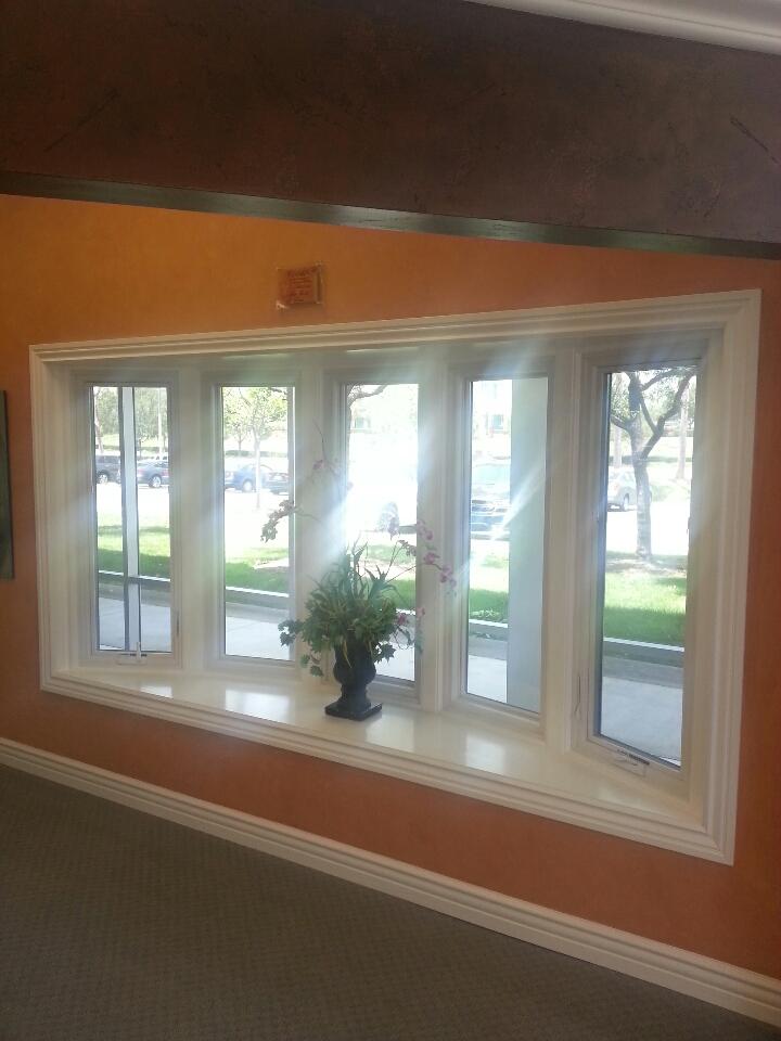 Laguna Hills, CA - Renewal by Andersen bay window with casement operating windows.