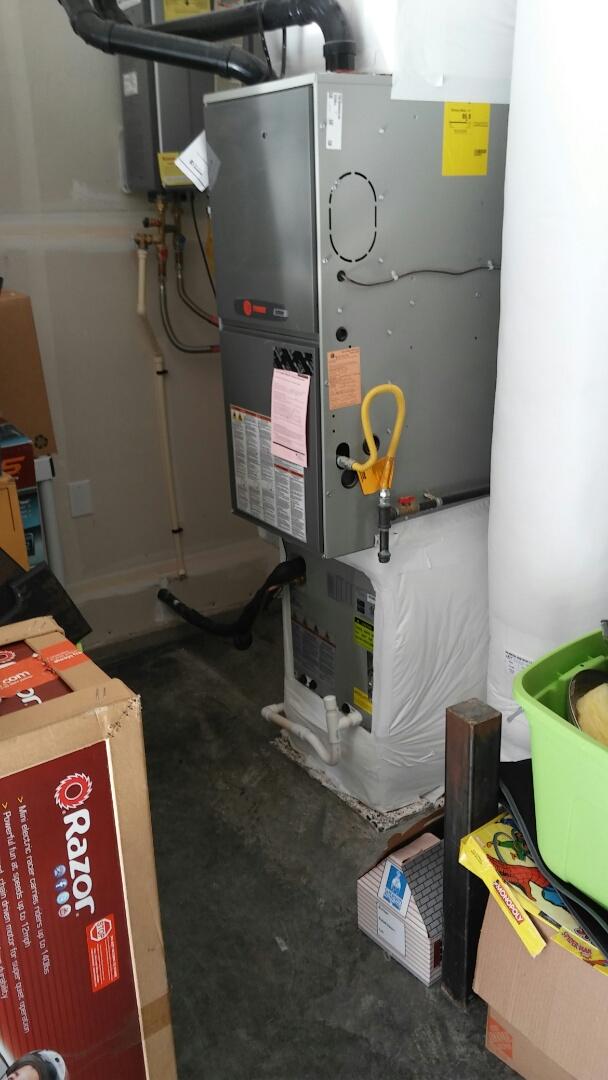 Ridgefield, WA - Installed a new AC unit