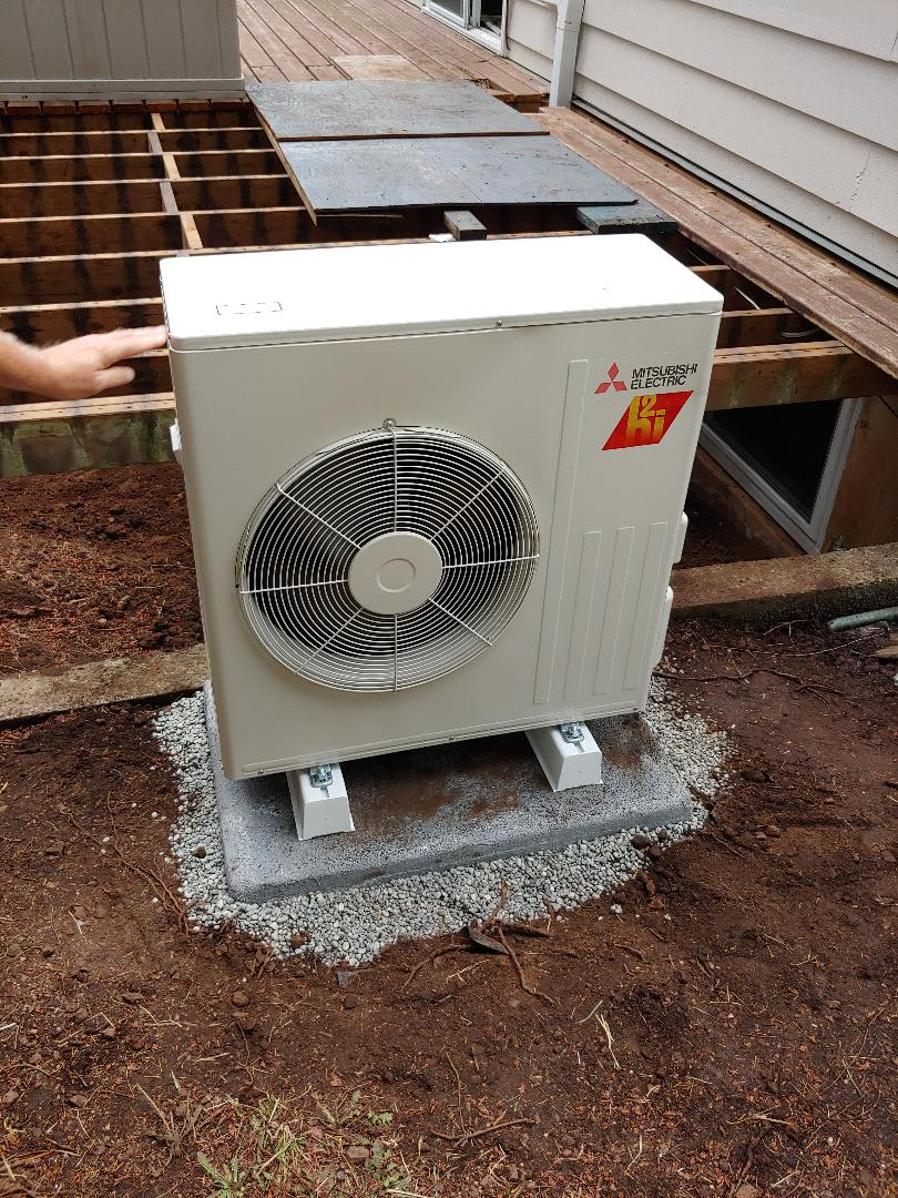 Washougal, WA - New Ductles Heatpump