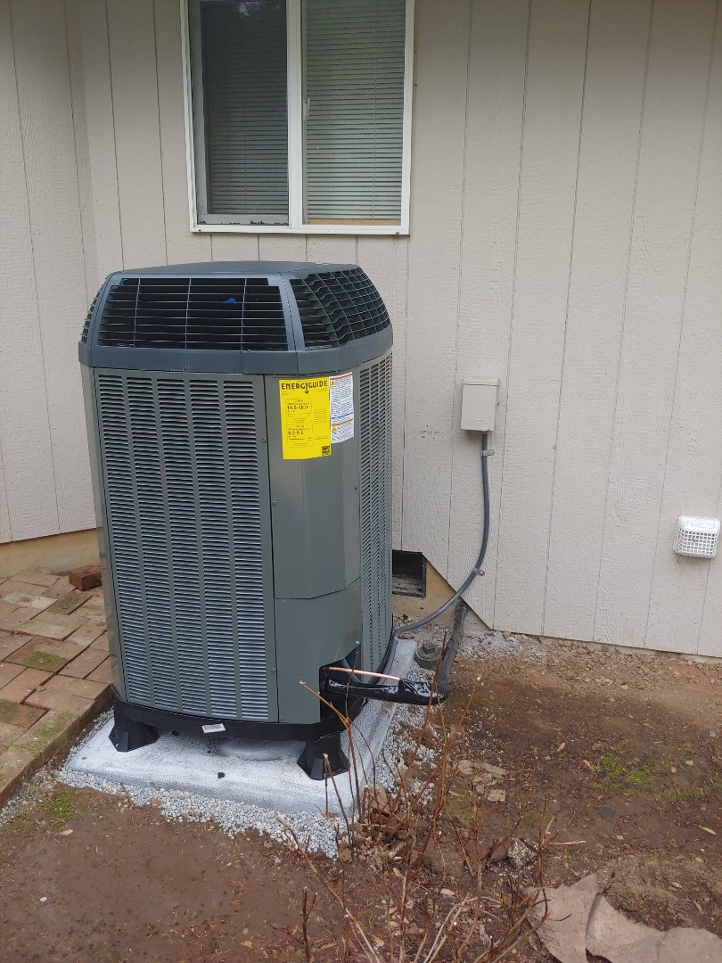 Battle Ground, WA - New Heatpump