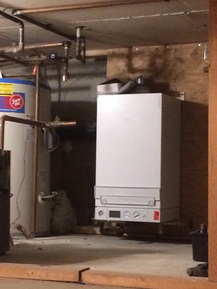 Coquitlam, BC - Boiler install in Vancouver