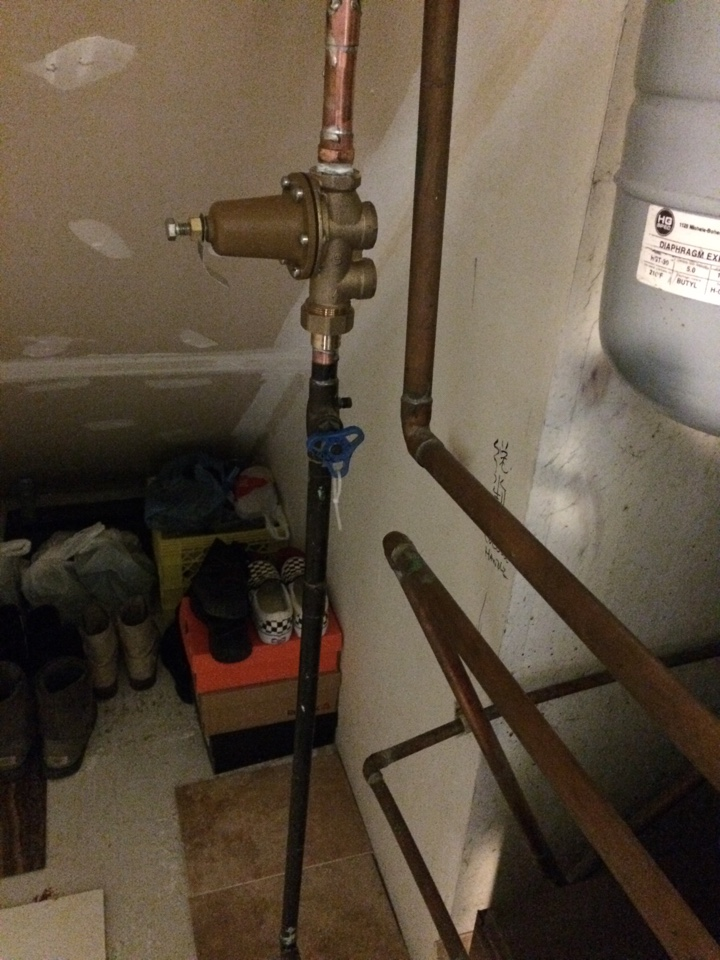 North Vancouver, BC - Installing new PRV