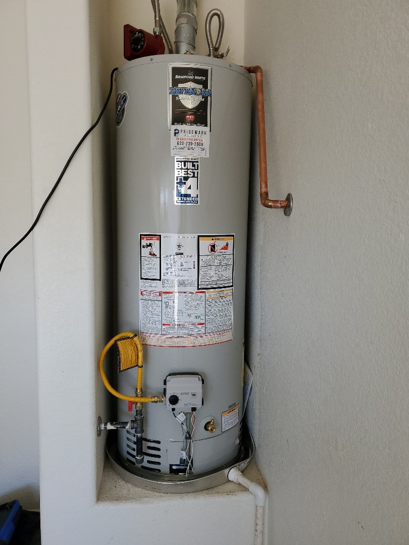 Replace water heater, faucets and rebuild shower. In Surprise