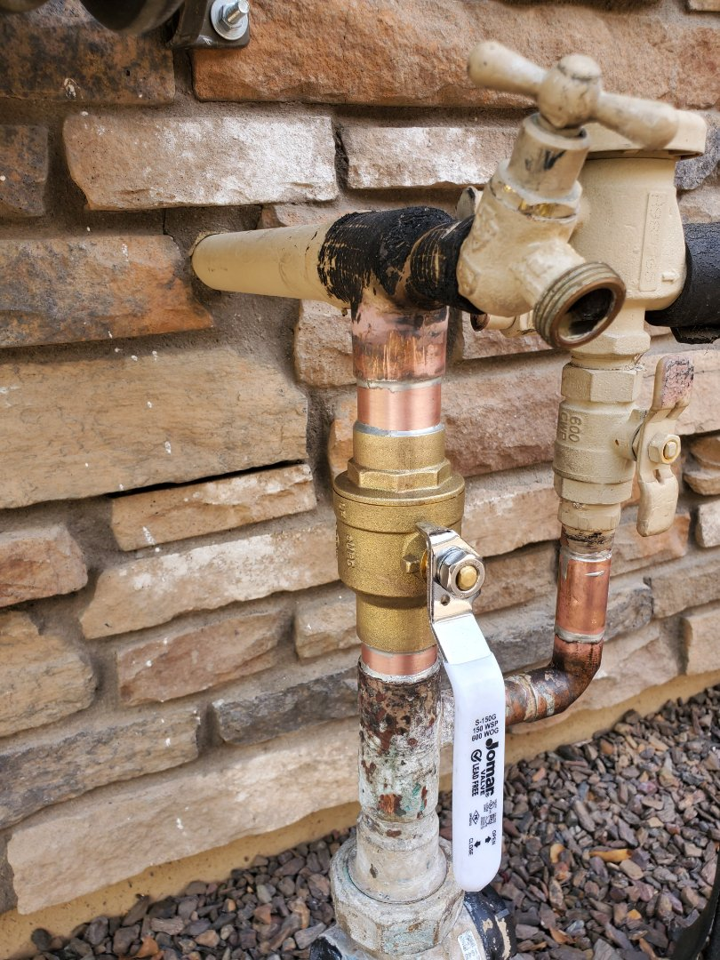 Surprise, AZ - Replacement shutoff valve in Surprise