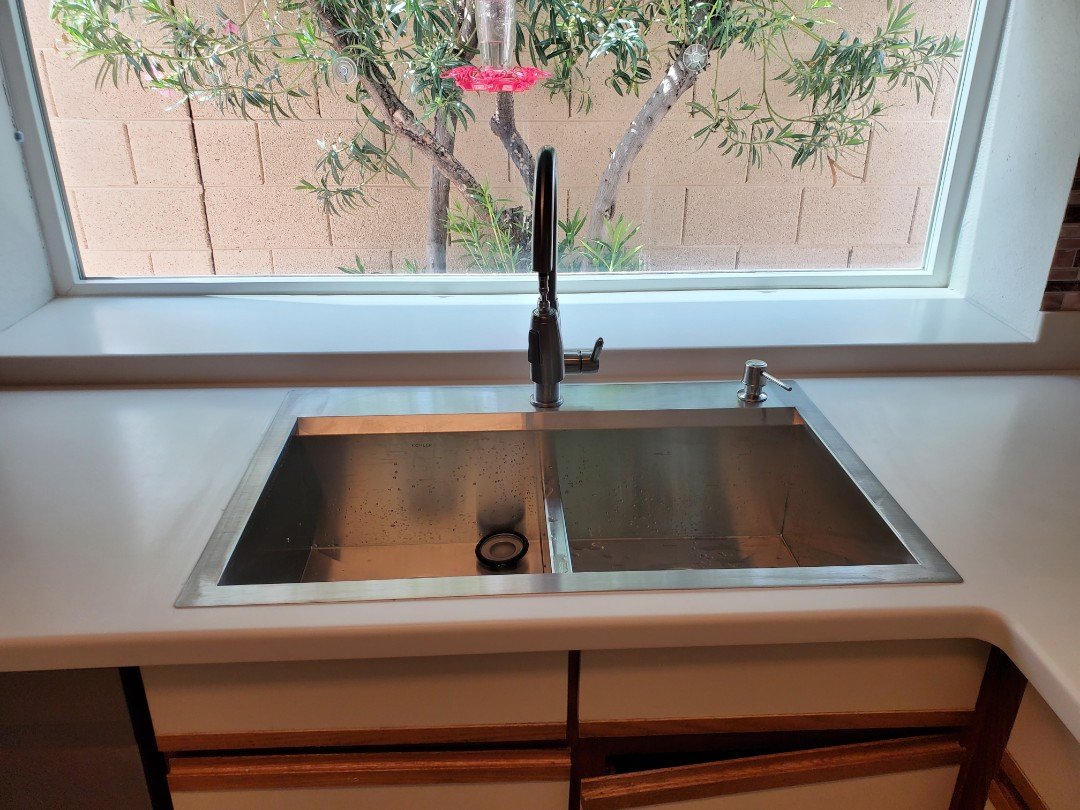 Surprise, AZ - Install new kitchen sink and new water heater.
