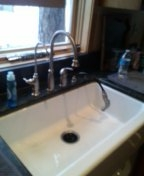 Evergreen, CO - Kitchen faucet repair
