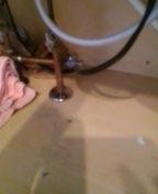 Littleton, CO - Dishwasher water shut-off valve replacement