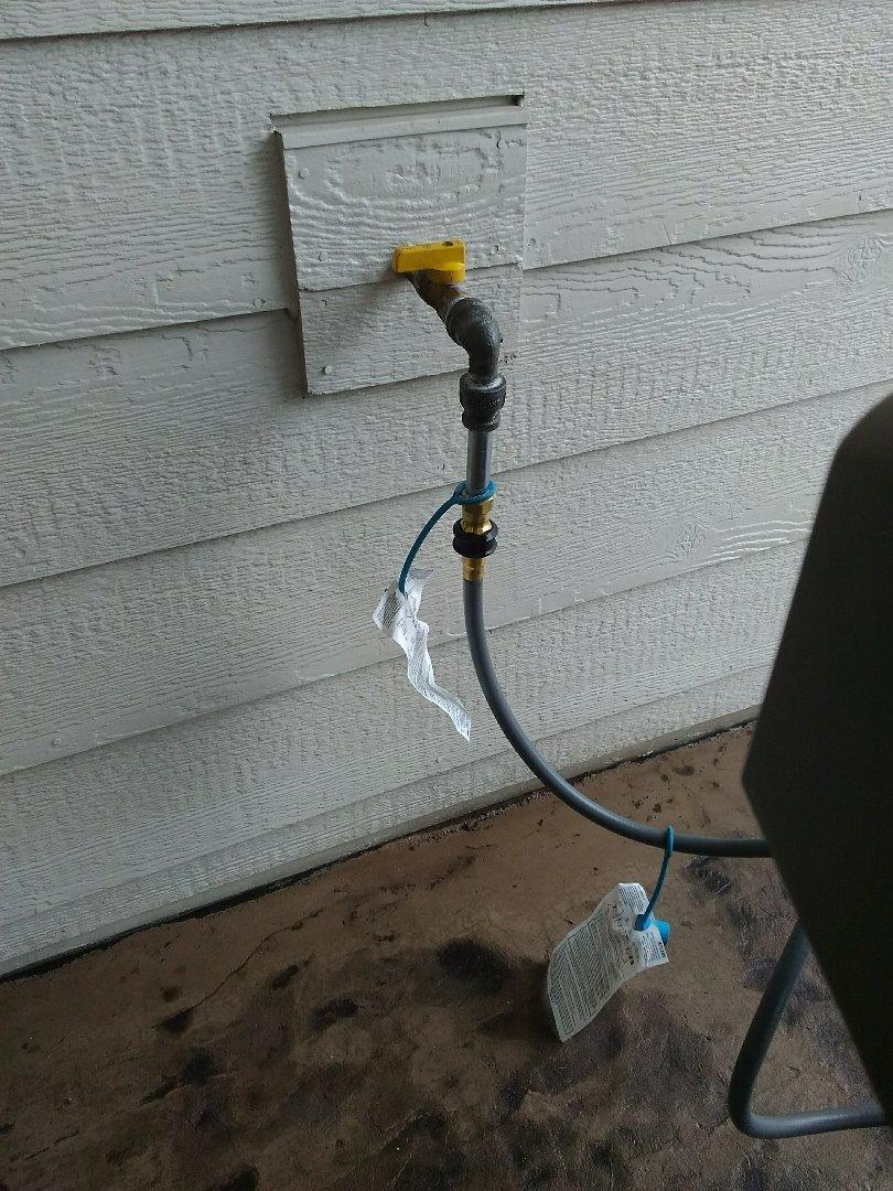 Parker, CO - Gas line repair