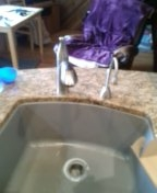 Evergreen, CO - Kitchen faucet replacement
