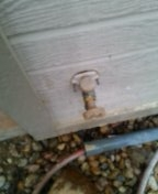 Morrison, CO - Freezeless hose faucet repair
