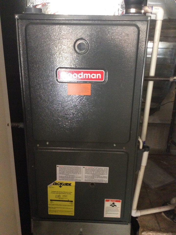 Lone Tree, CO - Furnace repair. Replace control board in Goodman high efficiency furnace.