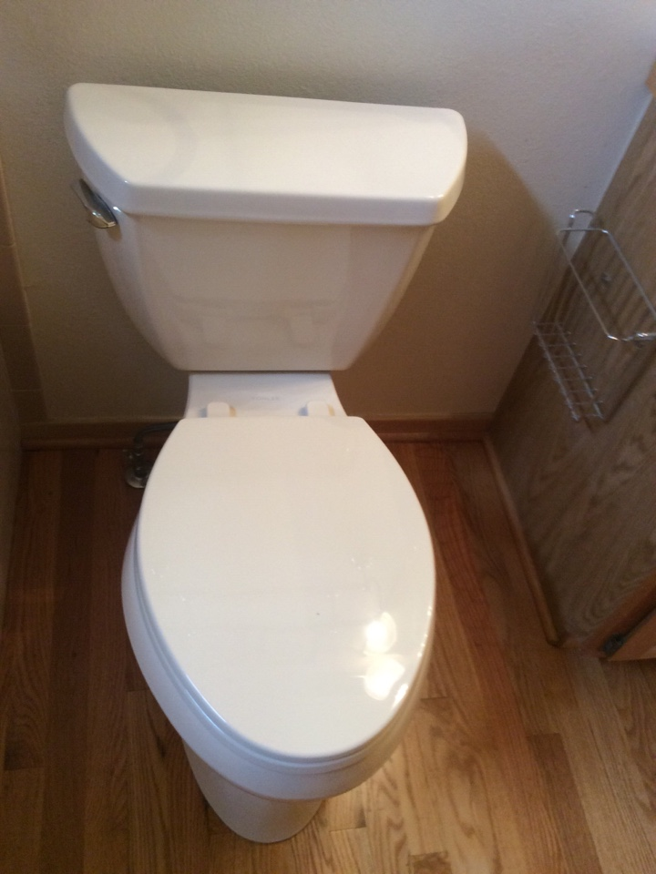 Idaho Springs, CO - Toilet replacement