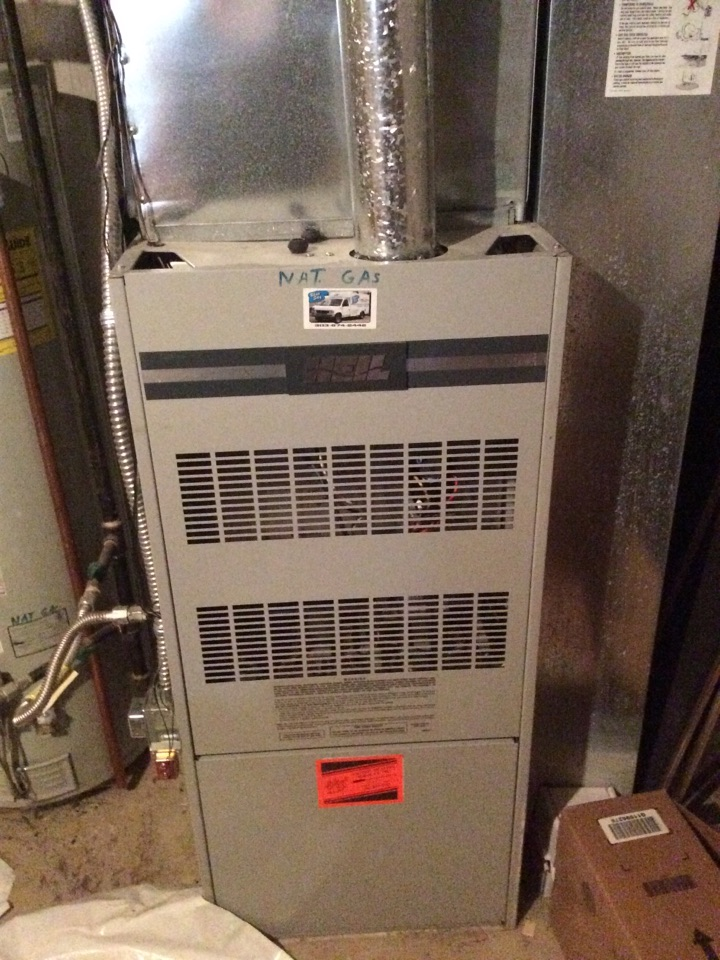 Pine, CO - Service and repair of Heil furnace