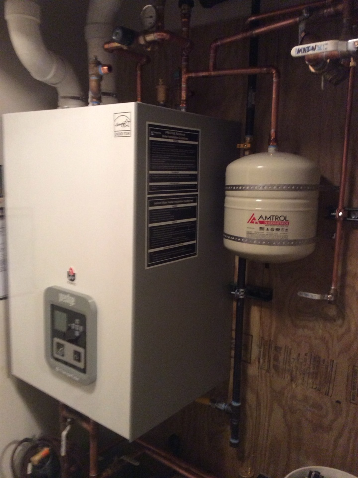 Idaho Springs, CO - Day two boiler install