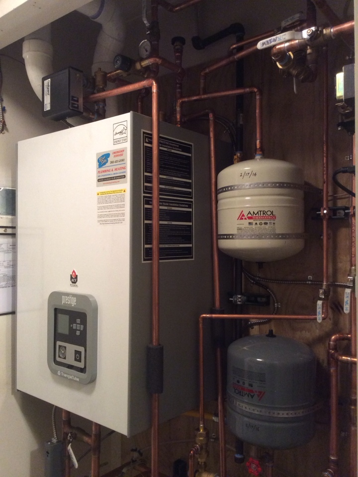 Idaho Springs, CO - Complete boiler install.