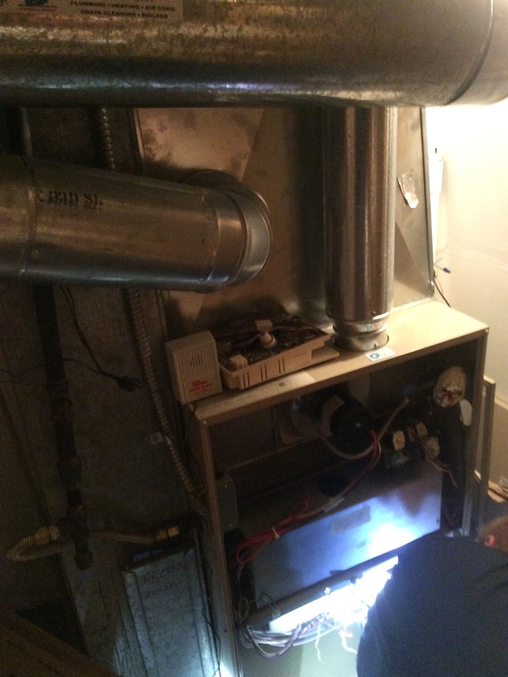 Idaho Springs, CO - Blower motor and wheel replacement on Amana furnace