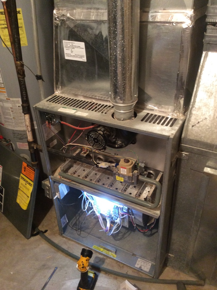 Idaho Springs, CO - Igniter replacement, and cleaning of Rheem  furnace