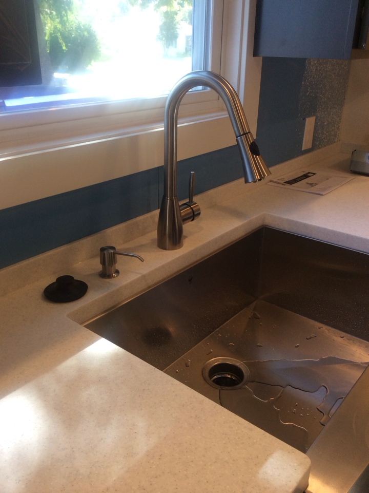 Englewood, CO - Installed kitchen and bathroom faucet.