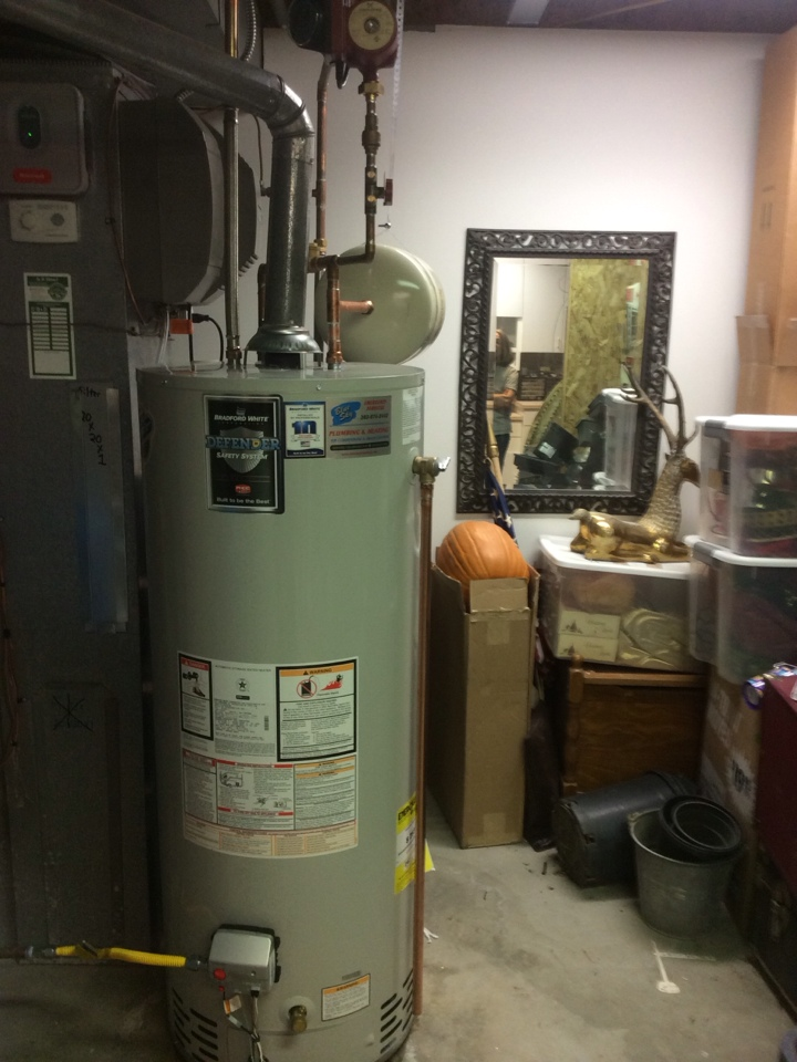 Castle Rock, CO - Replaced water heater and recirc pump.  Installed whole house water filter.