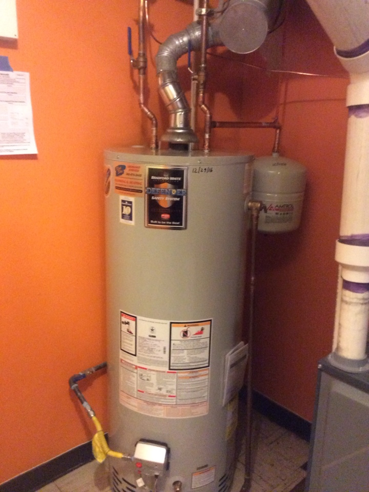 Wheat Ridge, CO - Replaced 50 gallon water heater and installed new expansion tank.