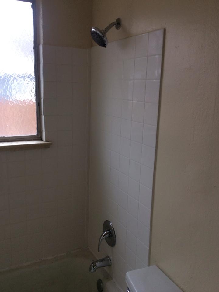 Arvada, CO - Installed shower trim