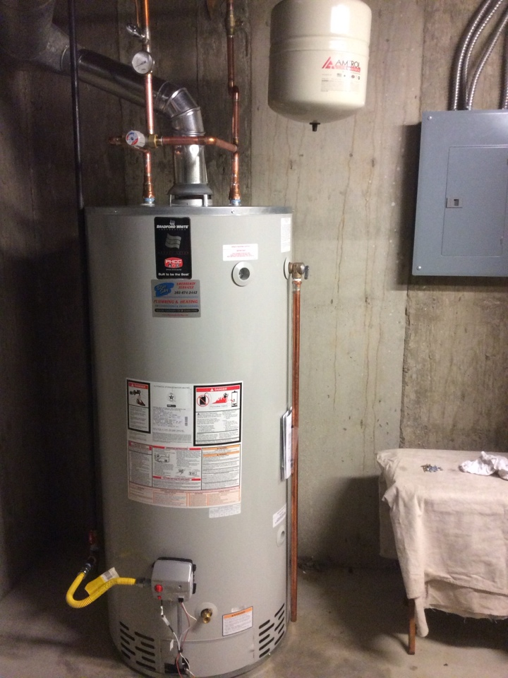 Wheat Ridge, CO - Replaced 75 gallon water heater and expansion tank.