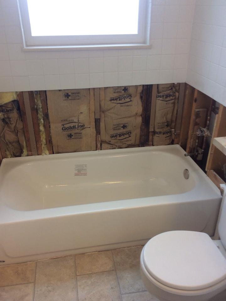 Littleton, CO - Replaced leaking bath tub