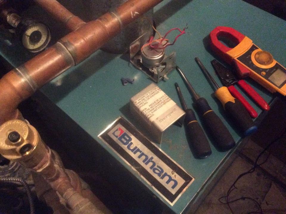 Arvada, CO - Burnham cast iron boiler, Honeywell zone valve not working