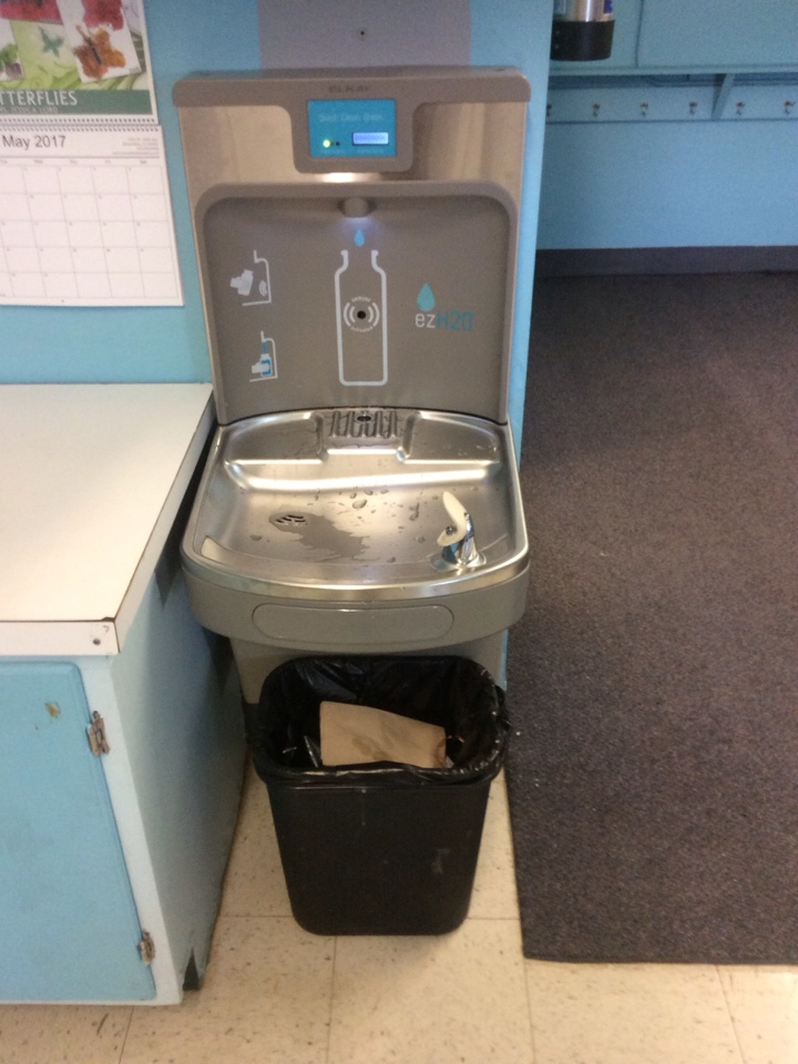 Broomfield, CO - Installation of two new drinking fountains and bottle fillers.